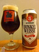 Craft beer – Match Dunkelweiss et l'île de Garde   – Bière brune