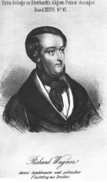 WANTED ! 1853 — 2ème avis de recherche de Richard Wagner... 1854 — Avis de la police autrichienne