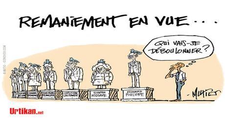 Macron chasse Philippe