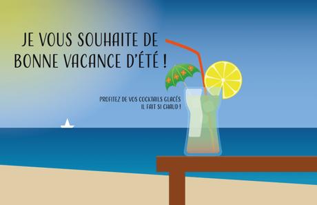 Bonne vacance d'été !