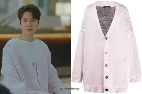 THE KING ETERNAL MONARCH : Lee Gon's pink cardigan in S1E02