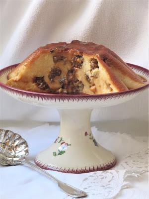 Gâteau de semoule aux pruneaux