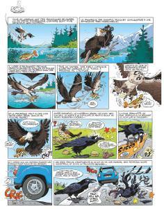 Les oiseaux en bande dessinée #1 • Jean-Luc Garréra et Alain Sirvent