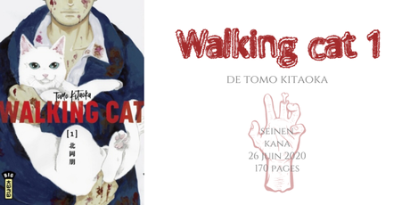 Walking cat #1 • Tomo Kitaoka