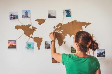 Décorer un mur avec ses photos de voyage