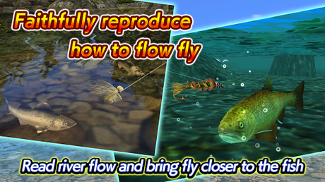 Télécharger Fly Fishing 3D II  APK MOD (Astuce) 1
