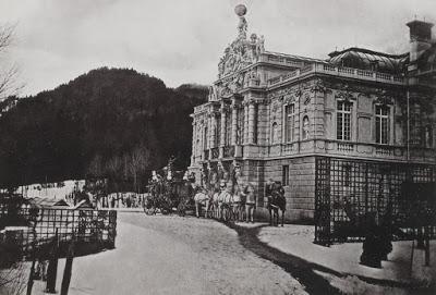 Joseph Joûbert — Les châteaux du roi Louis II de Bavière (1) — Linderhof