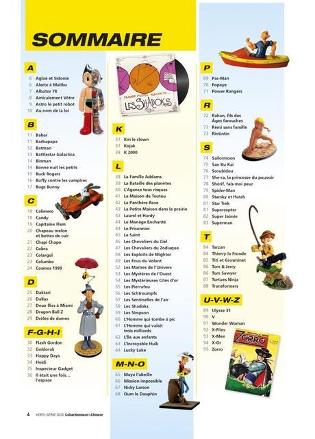Découvrez 100 héros de notre enfance avec  Collectionneur&Chineur