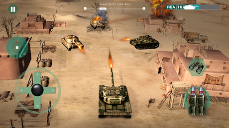 Télécharger guerre réservoir: Blitz Tank  APK MOD (Astuce) 5
