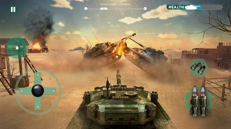 Télécharger guerre réservoir: Blitz Tank  APK MOD (Astuce) 1