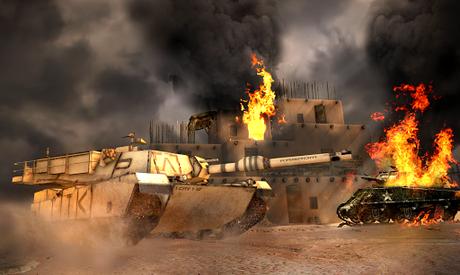 Télécharger guerre réservoir: Blitz Tank  APK MOD (Astuce) 2