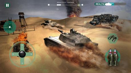 Télécharger guerre réservoir: Blitz Tank  APK MOD (Astuce) 3