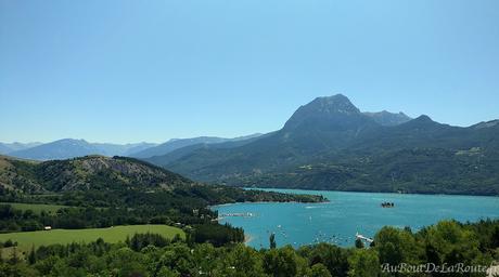 Les lacs de Serre-Ponçon et de St-Apollinaire