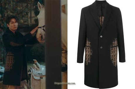 THE KING ETERNAL MONARCH : Emperor Lee Gon's black coat in S1E02