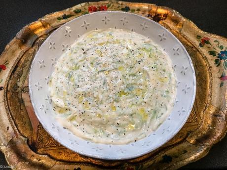 « Greek veg » – Tzatziki végétal
