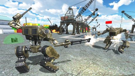 Télécharger Robots at War  APK MOD (Astuce) 4