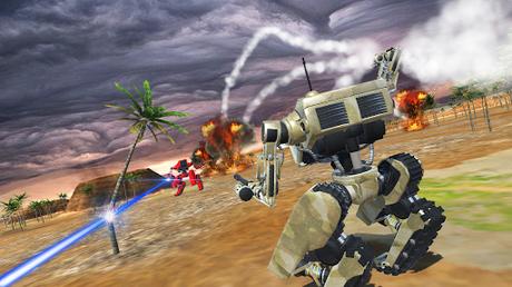 Télécharger Robots at War  APK MOD (Astuce) 2