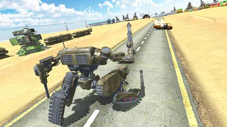 Télécharger Robots at War  APK MOD (Astuce) 3