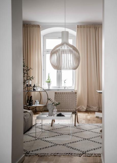 idée déco blog décoration scandinave salon blanc beige hygge