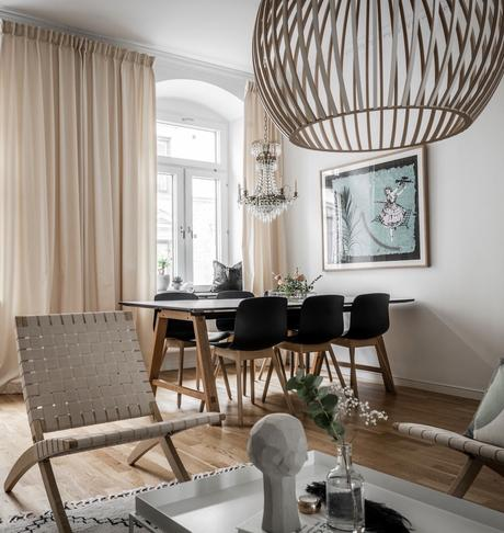idée aménagement salon scandinave quartier Linné - blog déco - clem around the corner