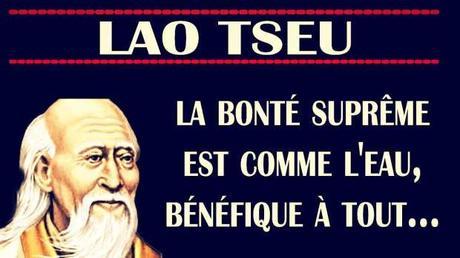 LA BONTÉ SELON LAO TSEU