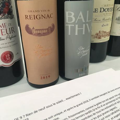 Bordeaux et Bordeaux supérieur : primeurs 2019, crise et rappels historiques.
