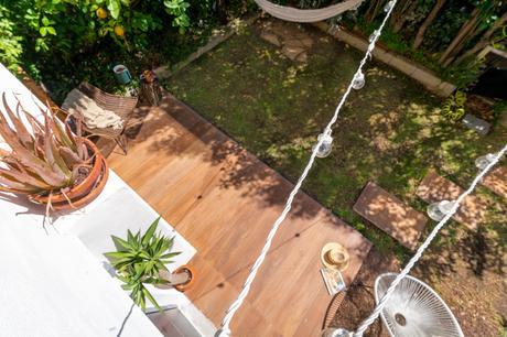Notre terrasse en carrelage imitation bois