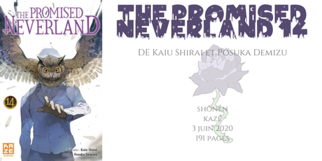 The promised neverland #14 • Kaiu Shirai et Posuka Demizu