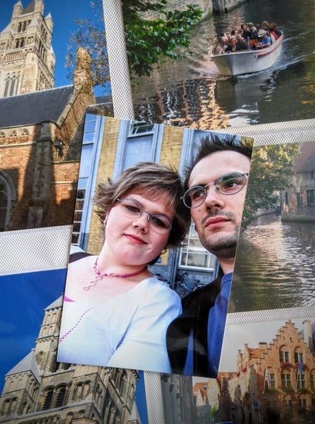 Notre première escapade en amoureux à Bruges - 2005