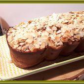 Cake aux poires et amande - Oh, la gourmande..