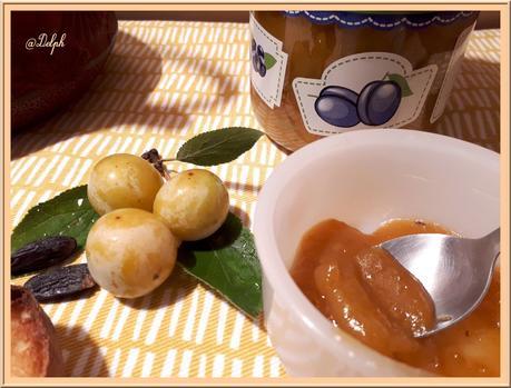 Confiture de Mirabelles à  la fève Tonka