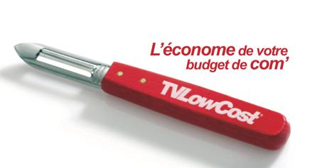 Vous avez réduit votre budget de com' ? C'est le moment de faire appel à TVLowCost, l'économe de votre budget de com'.