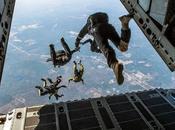 saut parachute pour croire oiseau