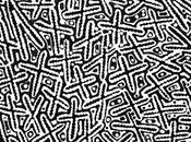 Focus peinture aborigène pointilliste Kenneth Martin JUNGARRAYI