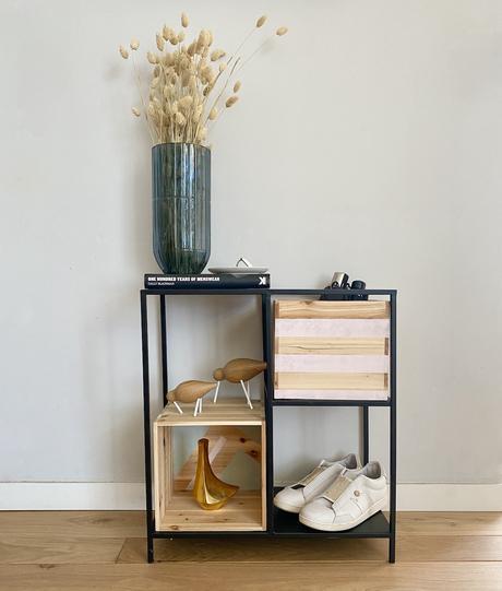 personnaliser meuble rangement bois métal caisse vin bois blog déco - clem around the corner