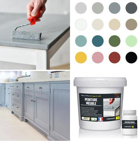 refaire cuisine home staging relooking peindre meuble façade couleur - blog déco