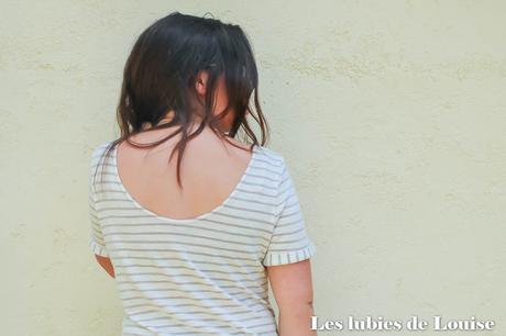 Le T-shirt de la Mouna Sew box de juin