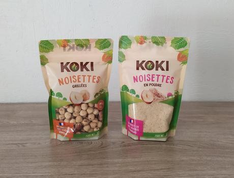 Noisettes grillées et noisettes en poudre KOKI