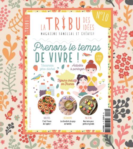 La tribu des idées, magazine familial et créatif