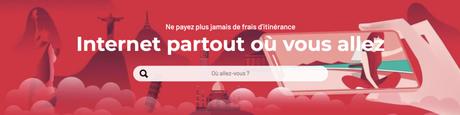 Comment avoir Internet pour des voyages hors-Europe ?