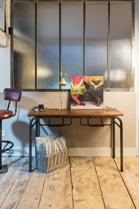 bureau écolier relooké l'objectif transformer un vieux meuble en console pour l'entrée