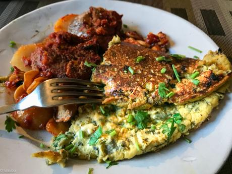 Sans casser des œufs ? – « Omelette » à l'oseille