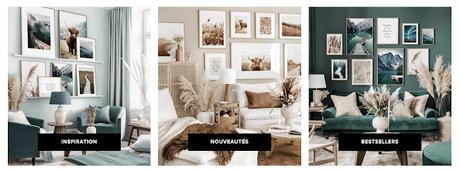 Changer facilement de décoration murale avec Poster Store