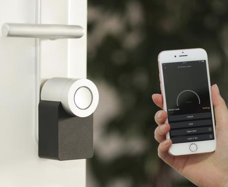 serrure connectée avis test Nuki porte ouvrir téléphone iphone sans clé