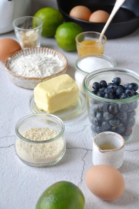 que faire avec des myrtilles dessert gourmand amande citron miel