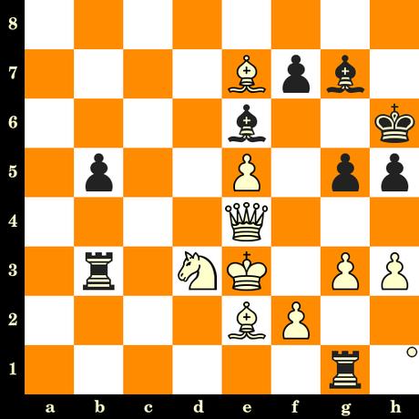 Les Blancs jouent et matent en 3 coups - Radoslaw Barski vs Stefan Pogosyan, Chorzow, 2019
