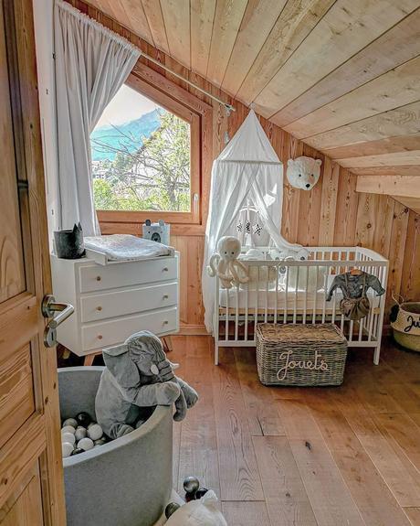 chambre enfant bois cosy meuble scandinave intérieur chaleureux