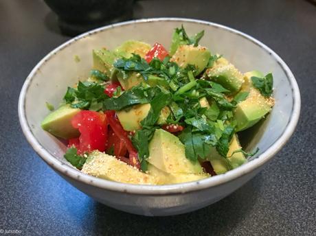 L'ingrédient magique – Salade d'avocats et de tomates