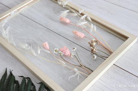 DIY : Cadre citation fleuri