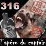 L'apéro du Captain #316 : Le train de la hype du dogue allemand